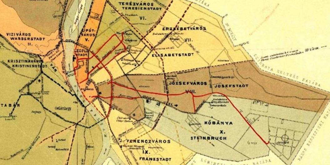Budapest Terkep Bkk Marlpoint