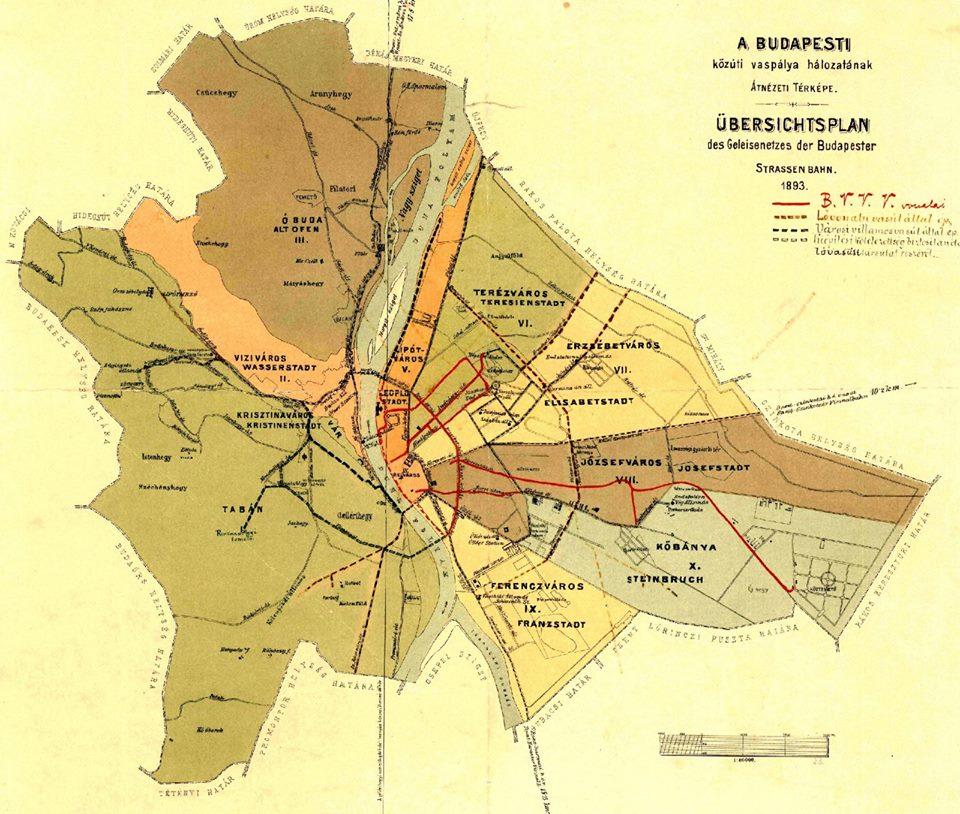 Budapest Kerület Térkép Utcákkal