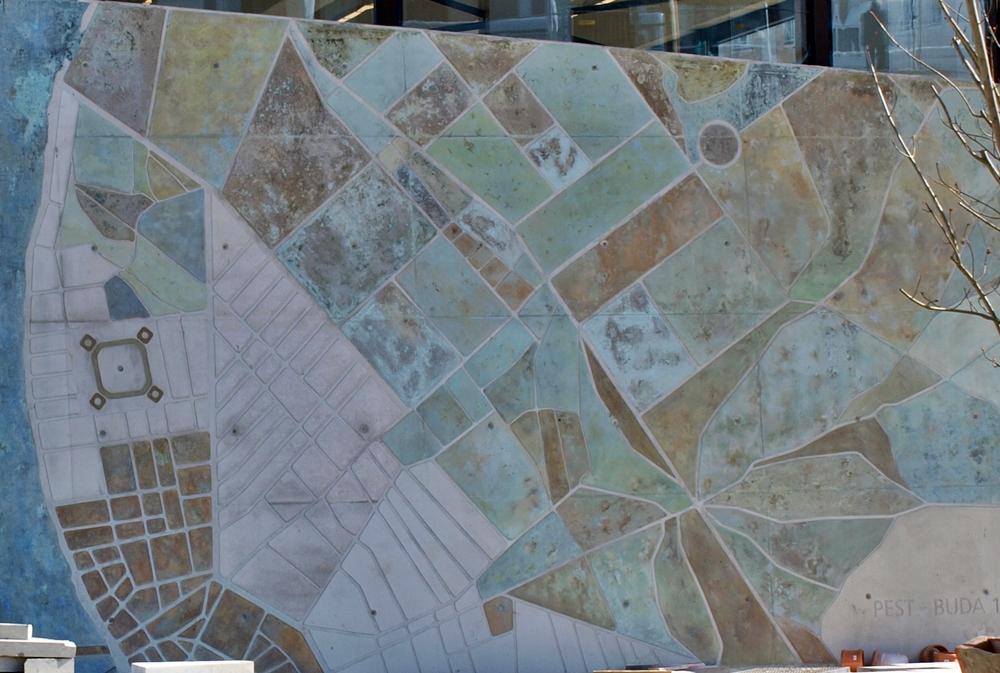 budapest széll kálmán tér térkép Pest budai vaktérkép, betonba öntve a Széll Kálmán téren | PestBuda budapest széll kálmán tér térkép