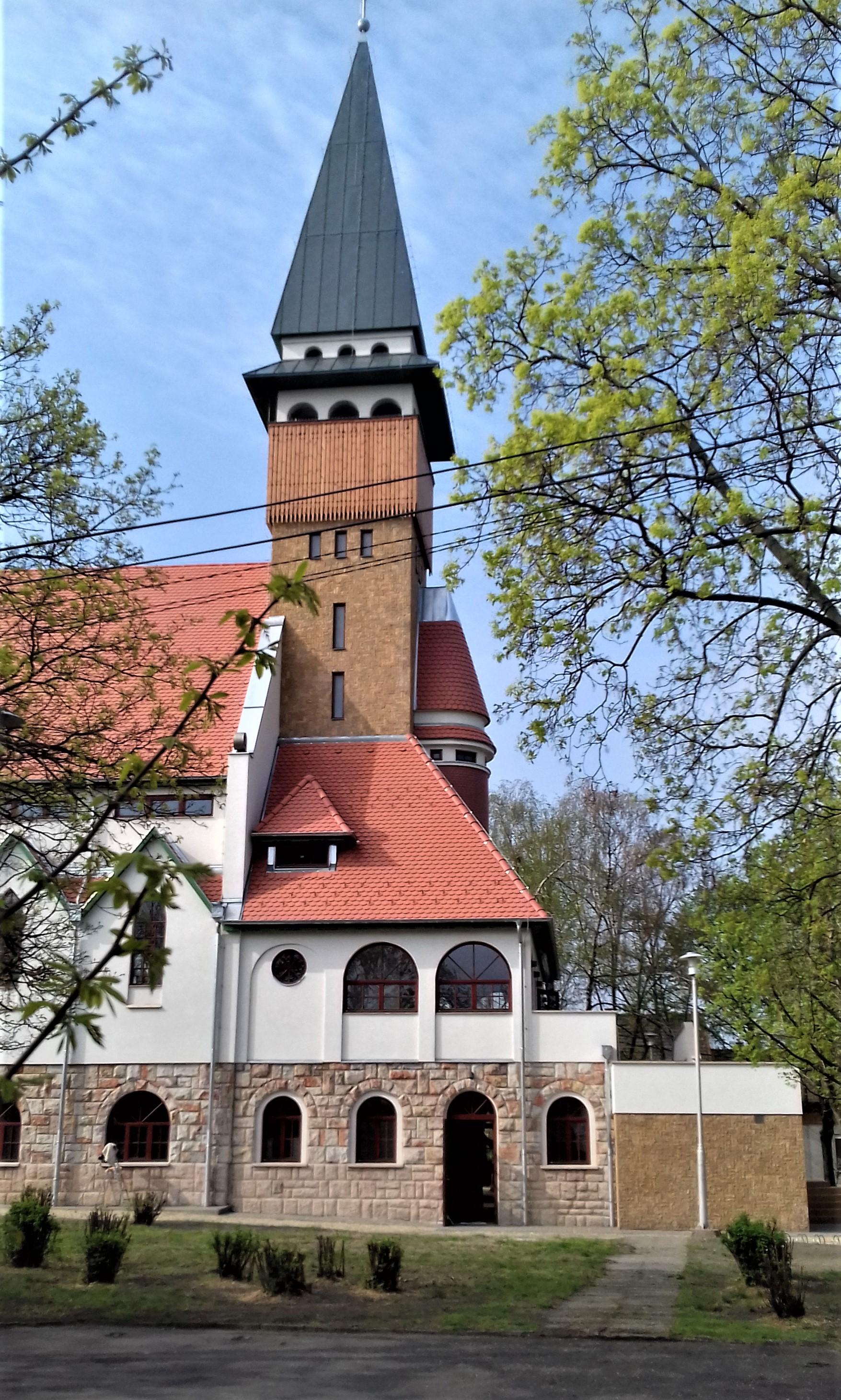 3da5614f35 A Budapest-Klapka téri Református Egyházközség 2019-ben elkészült temploma  (Fotó: Millisits Máté/pestbuda.hu)