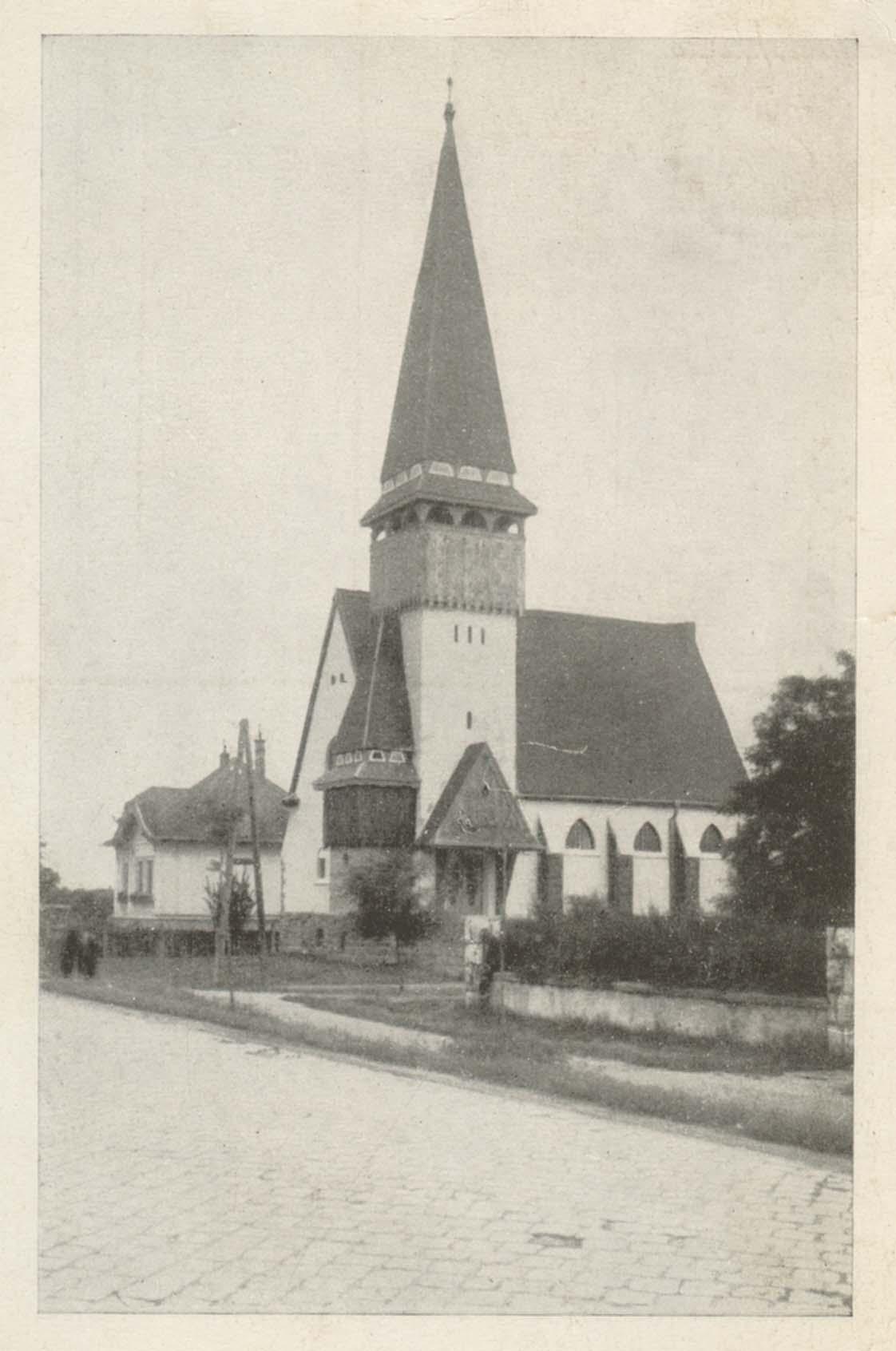 6d94319765 A magyar protestáns templomépítészet remekművét szentelték fel ...